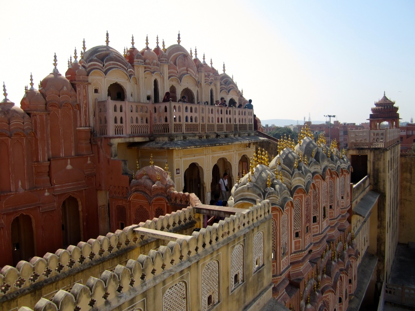 Hawa Mahal, Palace of Winds, in Jaipur