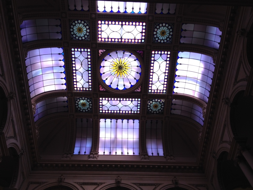 The ceiling in Osgoode Hall.